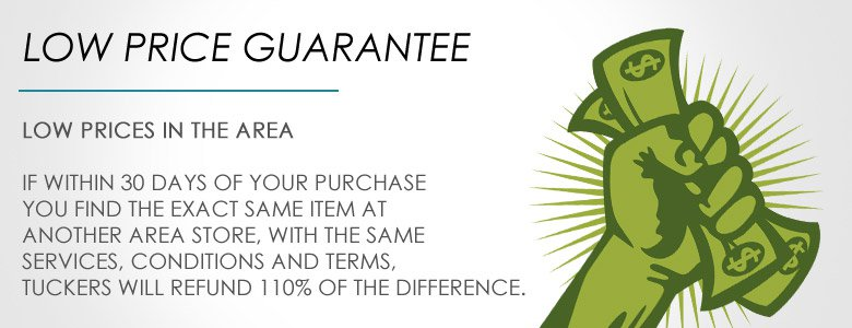 Our Low Price Guarantee Locations Hours Tucker S Furniture And Liance
