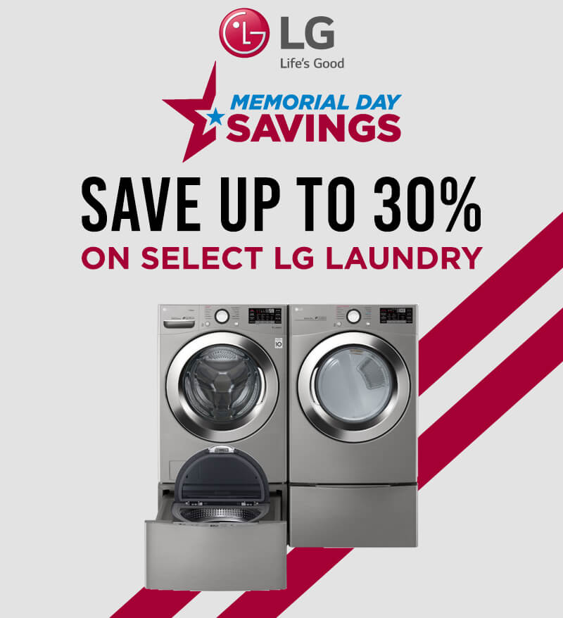 LG Memorial Day Savings